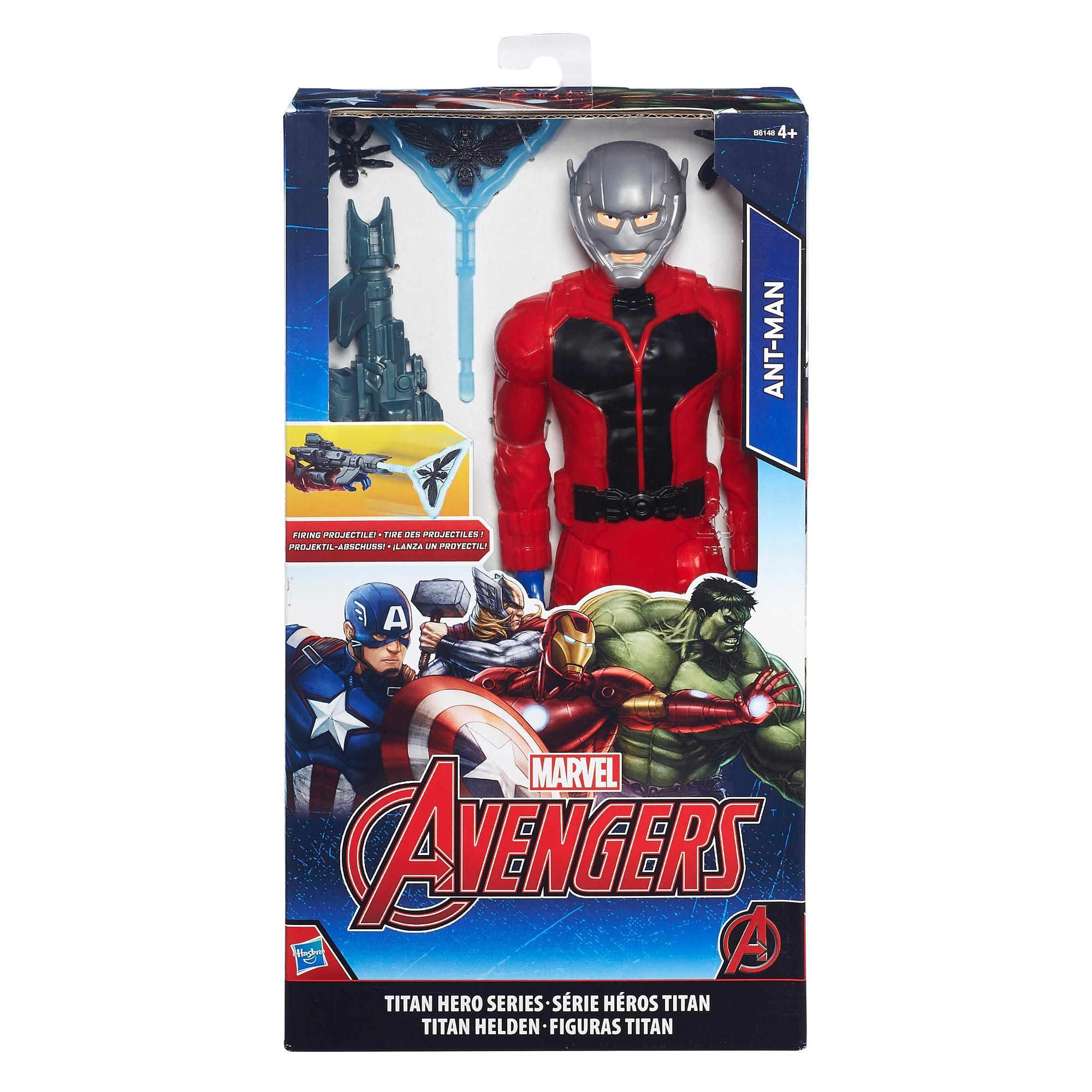 Avengers  Ant-Man Titan Hero & Gear Eu Solid