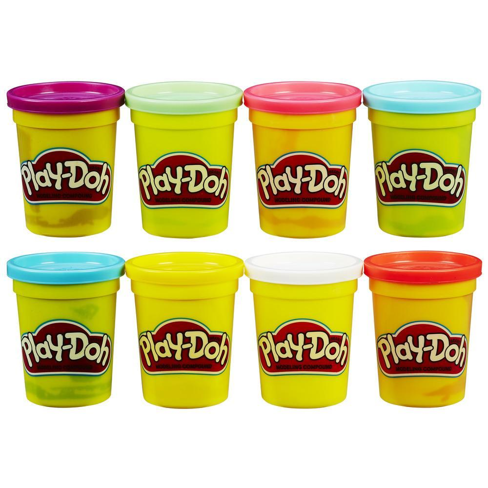 PLAYDOH PACK 4 +4 BOTES