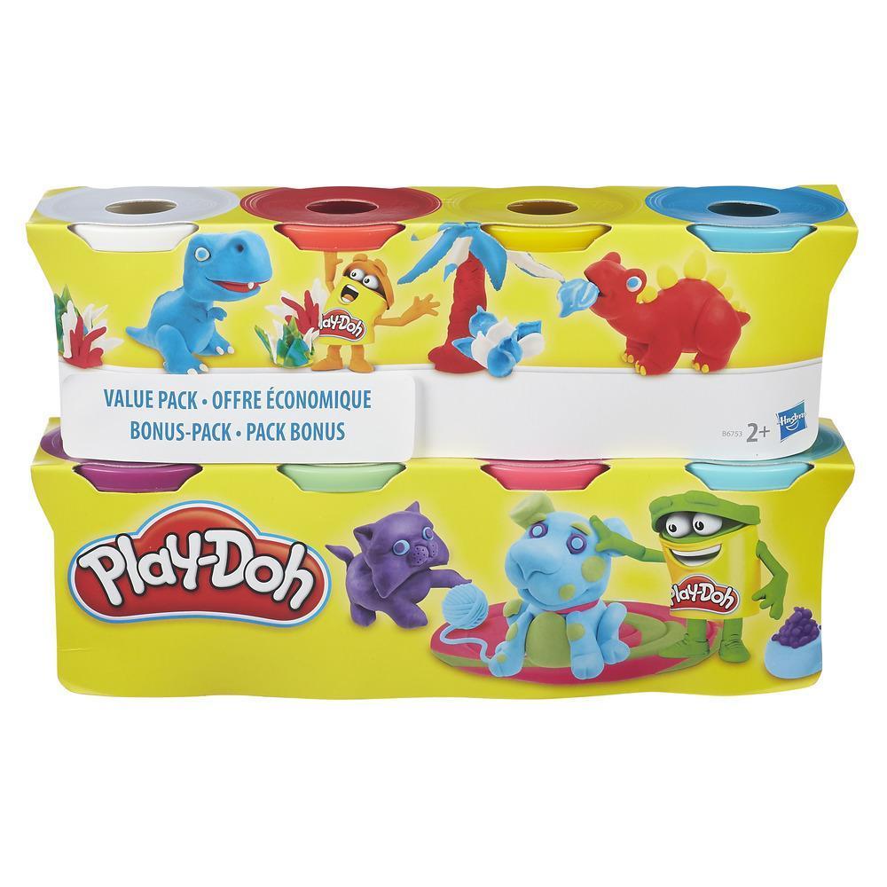PLAYDOH PACK 4 +4 BOTES