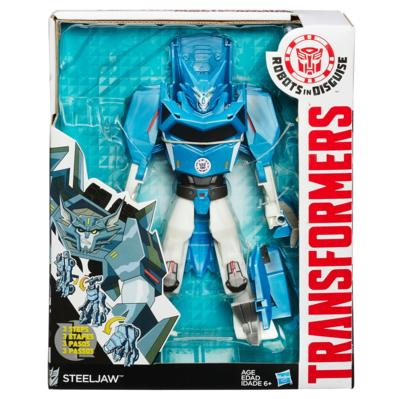 TRANSFORMERS ROBOTS IN DISGUISE 3 PASOS MÁGICOS STEELJAW FIGURA