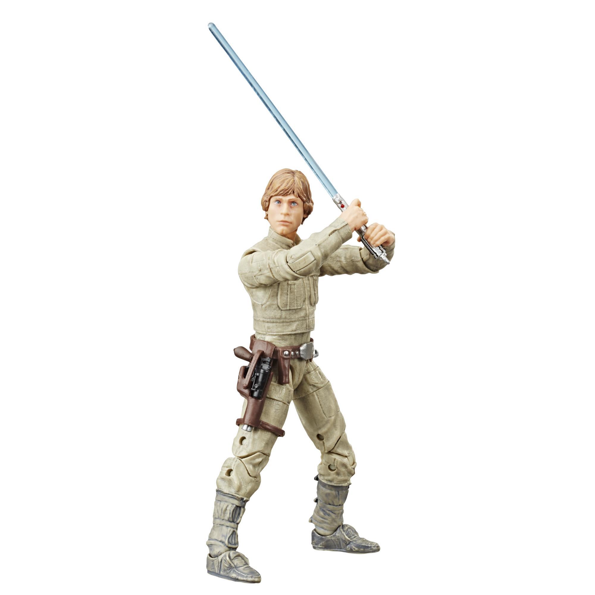 Figura de acción de Luke Skywalker (Bespin) de Star Wars The Black Series por el 40.° aniversario de Star Wars: El Imperio contraataca