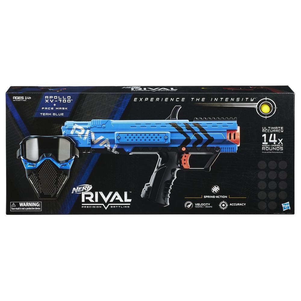NERF RIVAL APOLLO STARTER KIT BLUE