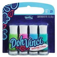 DOHVINCI DECO POP 4 PACK - COLORES COOL