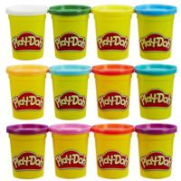 PLAYDOH PACK 6+6 BOTES
