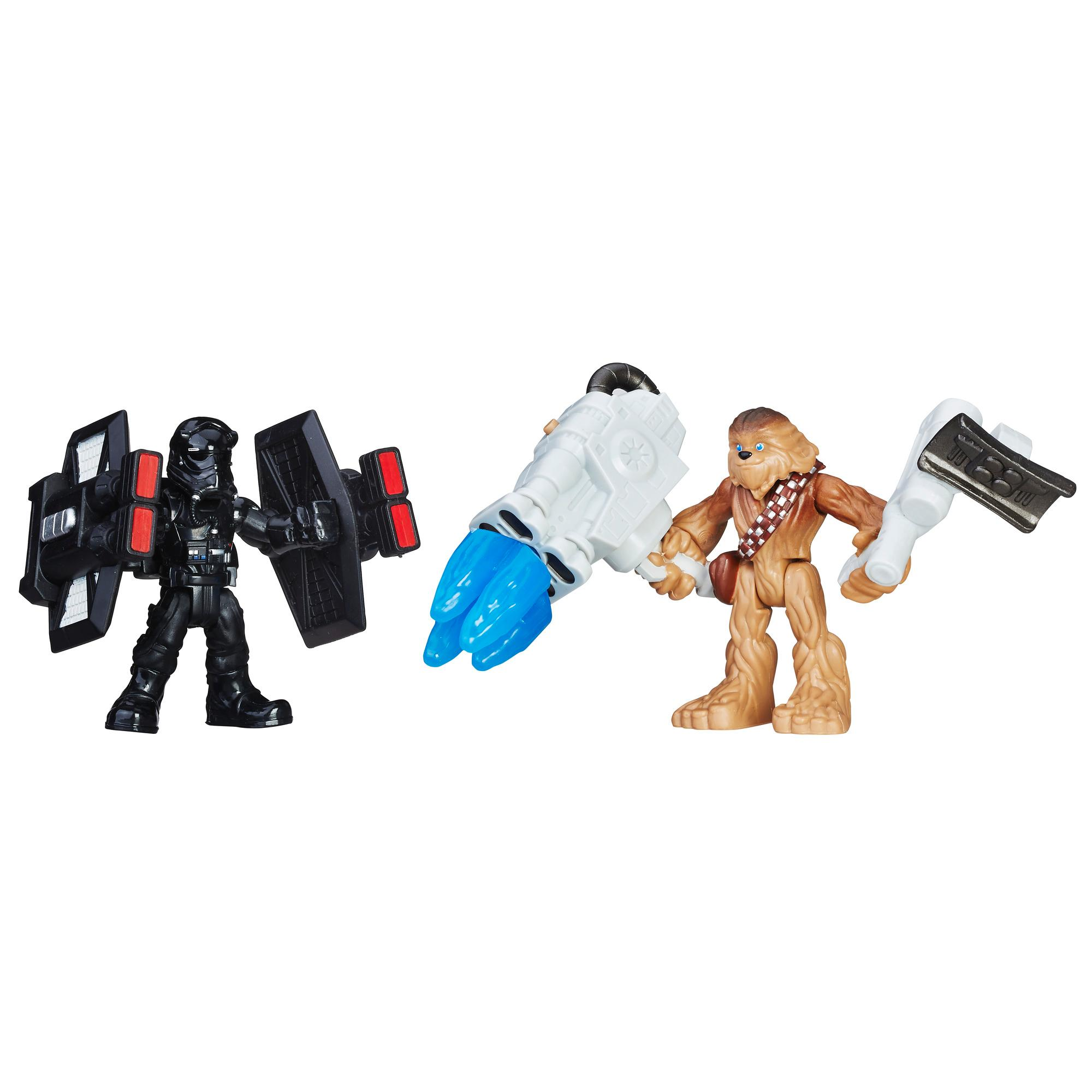 PLAYSKOOL STAR WARS PACK DE 2  CHEWBACCA Y FIRST ORDER