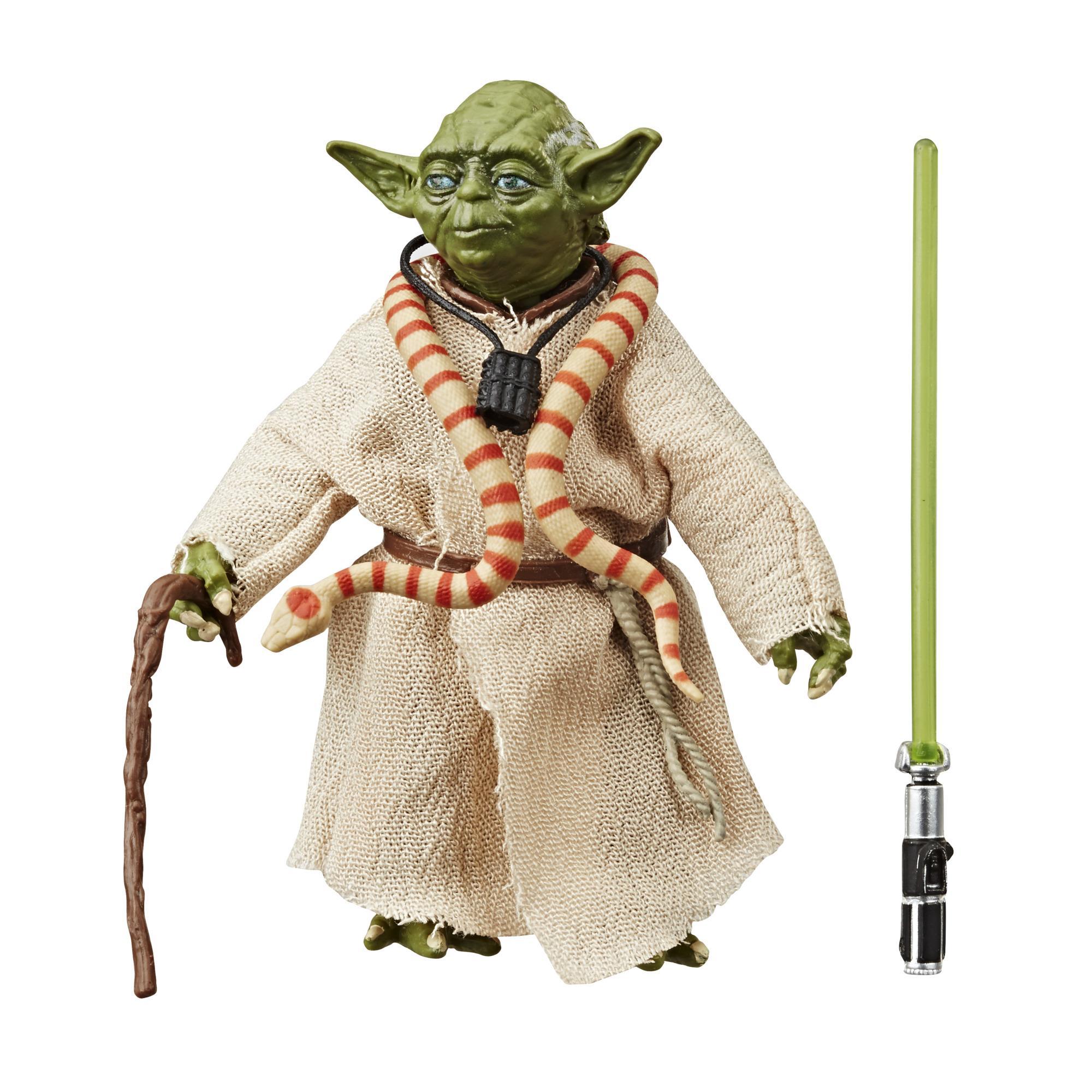 Figura de acción de Yoda de Star Wars The Black Series de 15cm por el 40.° aniversario de Star Wars: El Imperio contraataca