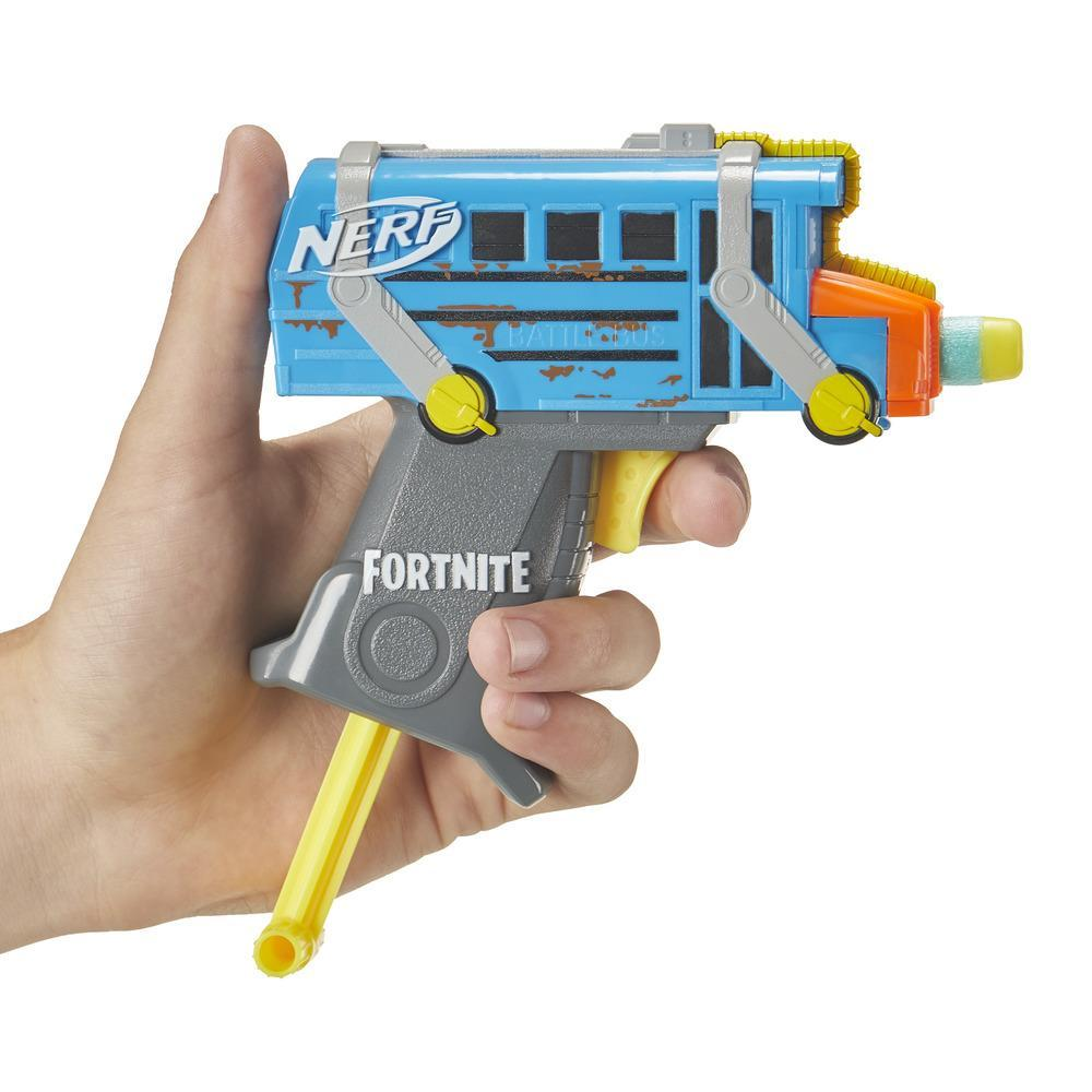 NERF MICROSHOTS FORTNITE BATTLE BUS