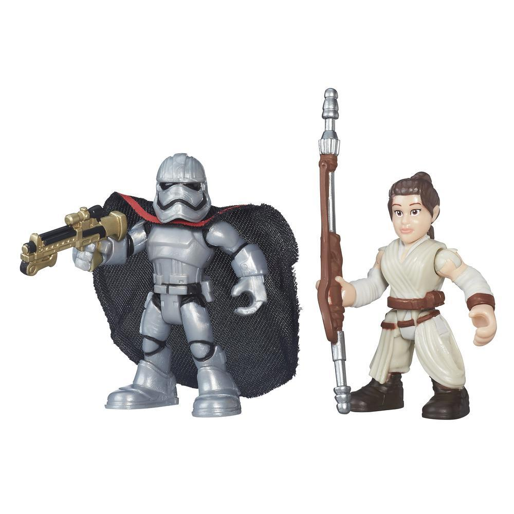 PLAYSKOOL STAR WARS PACK 2 AVENTURA  REY Y CAPITAN PHASMA