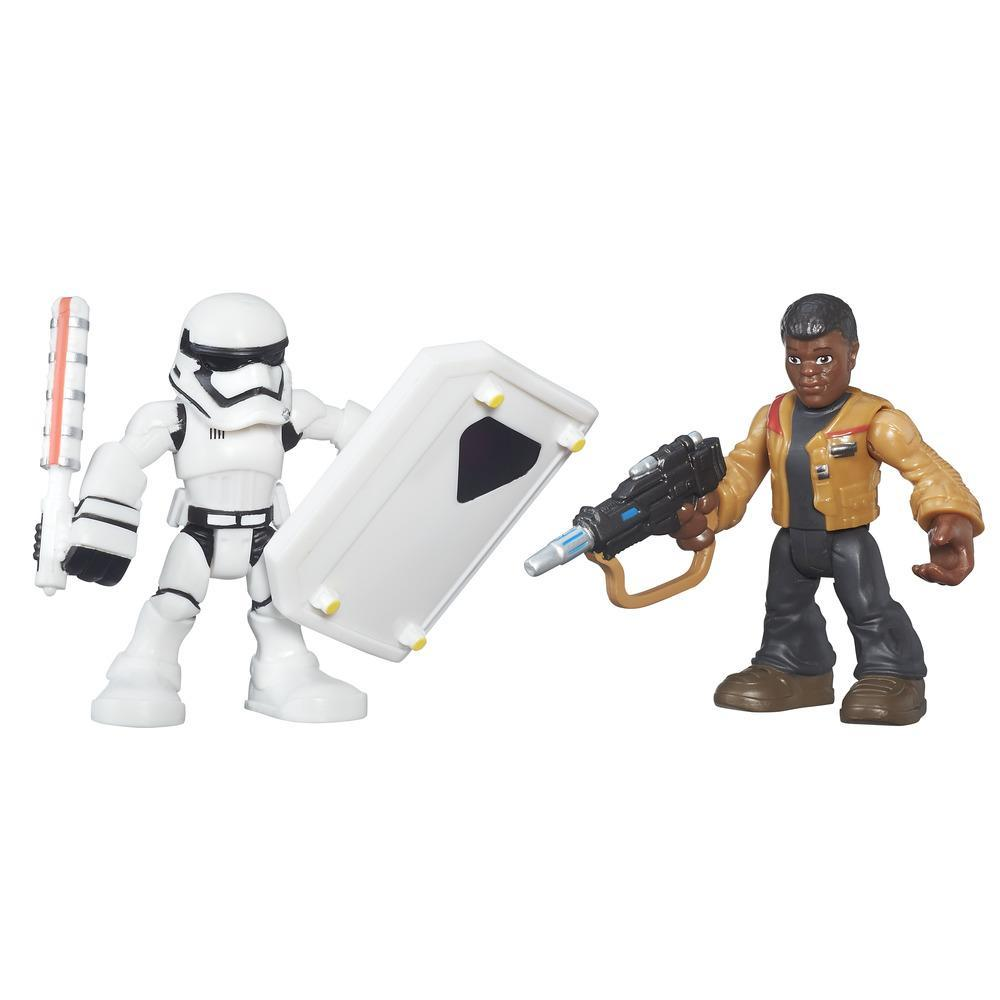 PLAYSKOOL STAR WARS PACK 2 AVENTURA  FINN Y FIRST ORDER STORMTROOPER