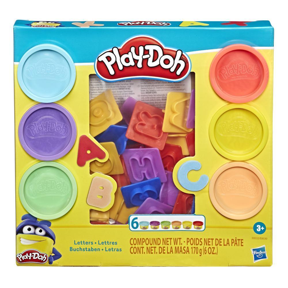 PLAY-DOH APRENDIZAJE LETRAS