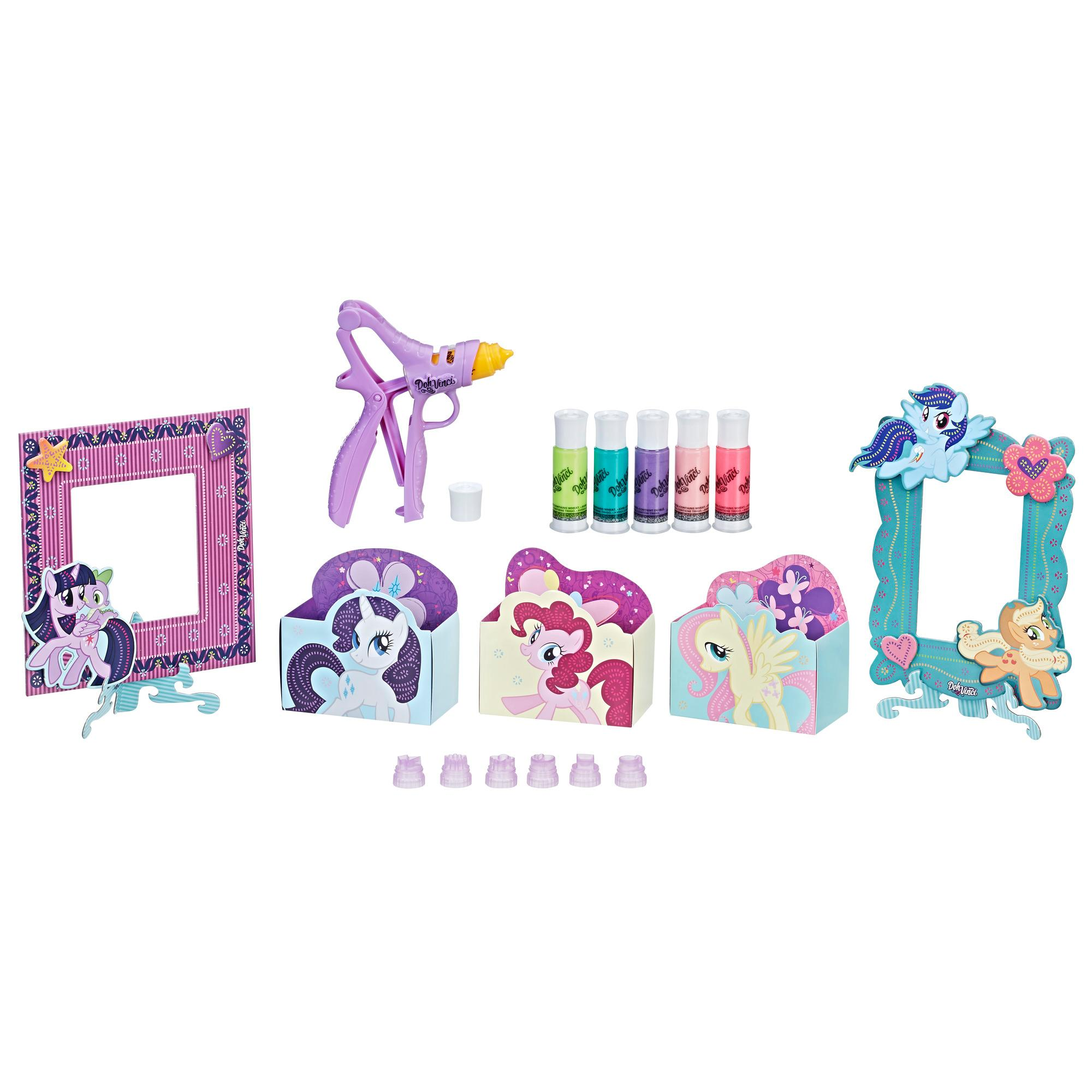 DOH VINCI MY LITTLE PONY TESOROS AMISTAD