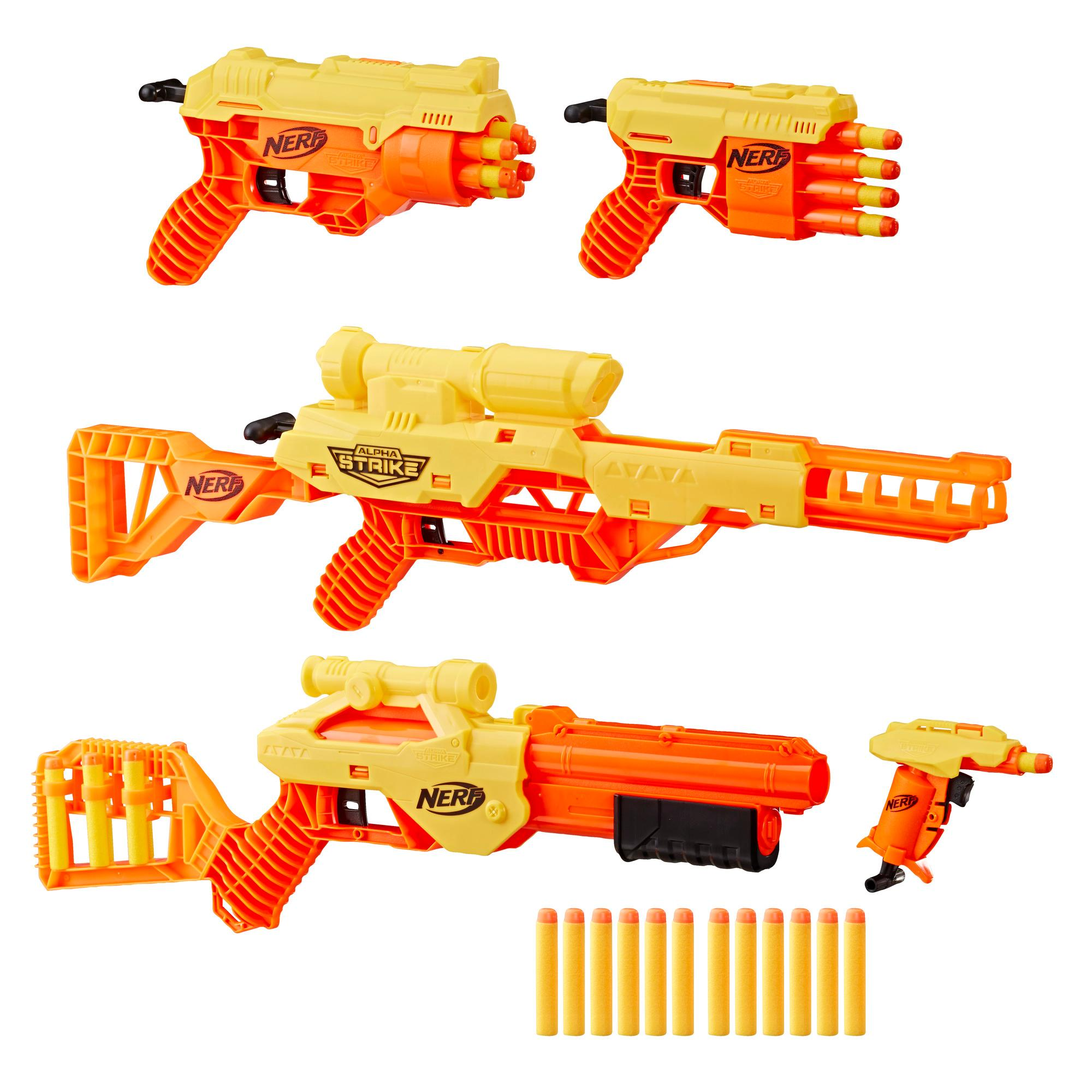 NERF ALPHA STRIKE ULTIMATE MISSION PACK