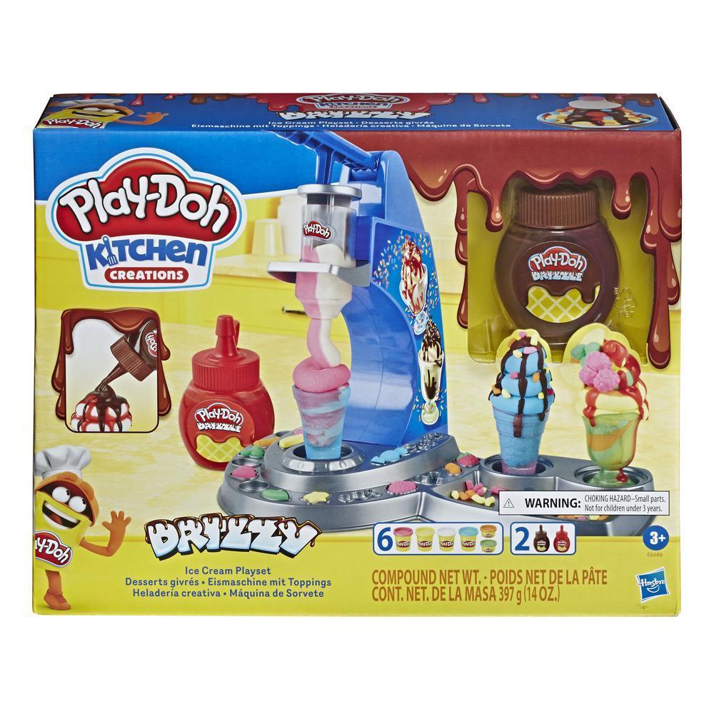 Juego de Heladería creativa de Play-Doh Kitchen Creations