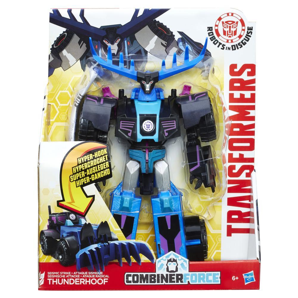 Transformers RID Combiner Force 3-Step Changer Seismic Strike Thunderhoof