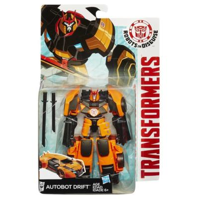 TRANSFORMERS FIGURA WARRIORS  AUTOBOT DRIFT