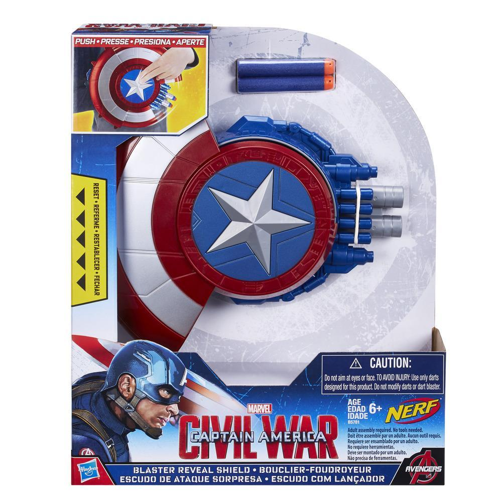 Capitán América  Captain America Blaster Reveal Shield