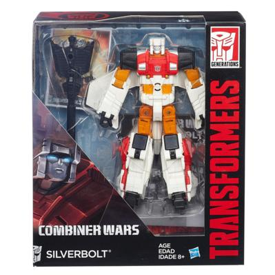 TRANSFORMERS GENERATIONS VOYAGER SILVER BOLT