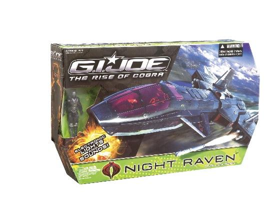 GI JOE - G.I Joe Night Raven