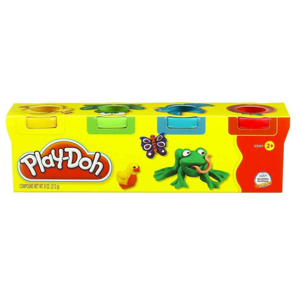 PLAY-DOH MINI PACK 4 BOTES
