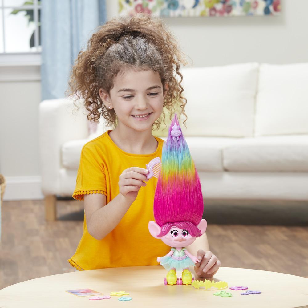 DreamWorks Trolls - Poppy Cabello de fiesta