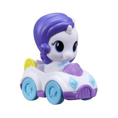 Playskool Friends My Little Pony Rarity - Figura y vehículo