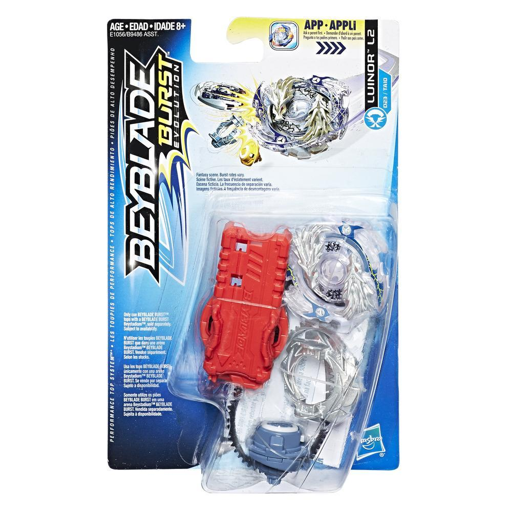 Beyblade Burst Evolution - Empaque de inicio - Luinor L2