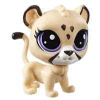 Littlest Pet Shop Mascota individual (Jaguar)