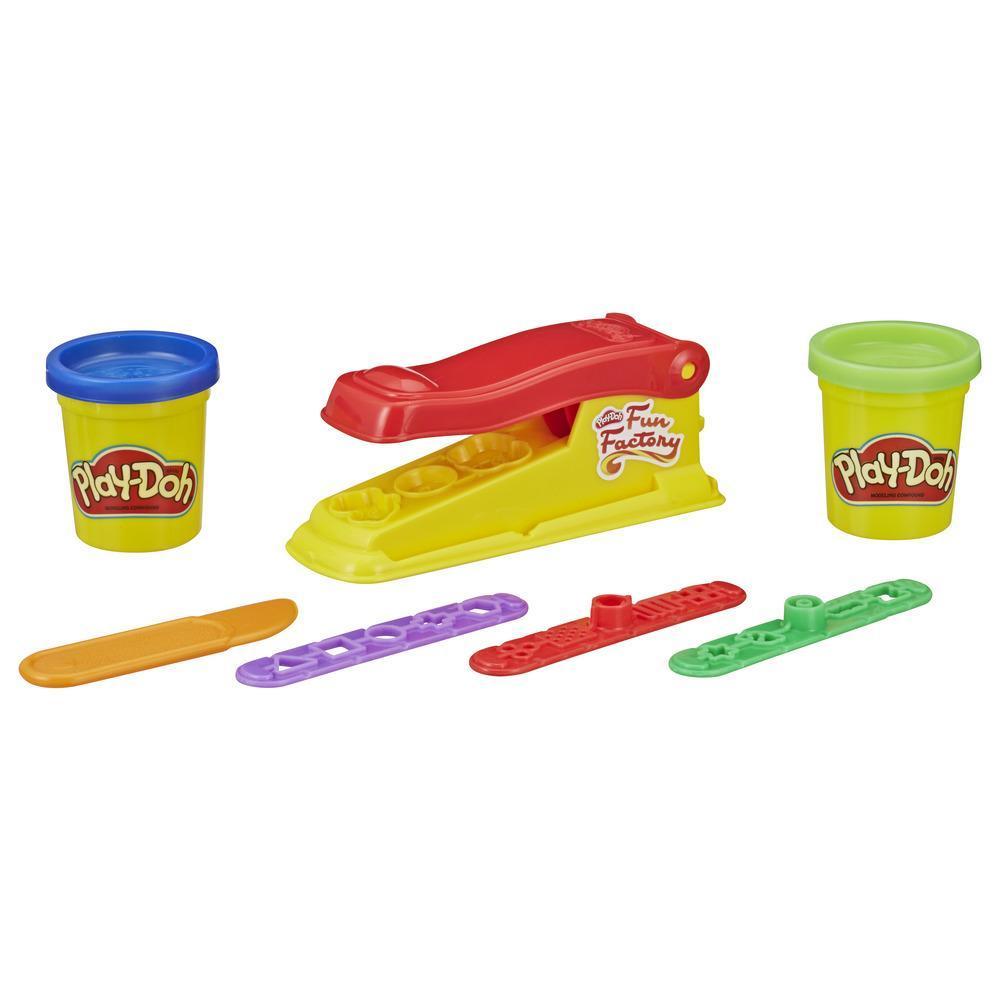Play-Doh  Mini Fábrica de Diversión, juguete para hacer formas con 2 colores no tóxicos para niños de 3 años y más