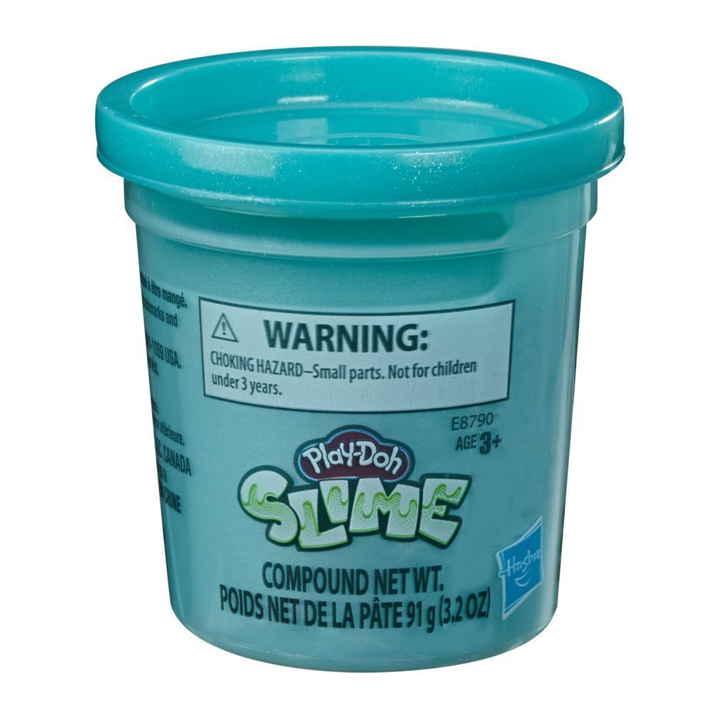 Play-Doh - Slime - Lata individual de 90,5 gramos de masa viscosa de color rosa metalizado para niños de 3 años en adelante