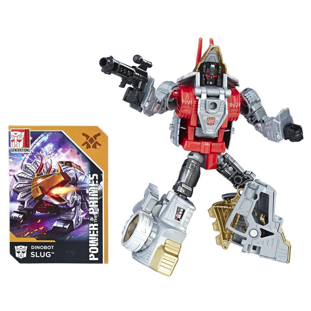 Transformers: Generations -  Poder de los Primes - clase de lujo - Dinobot Slug