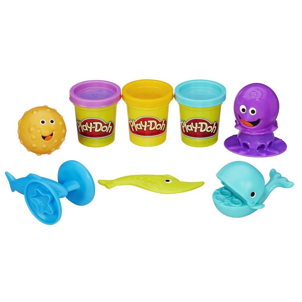 Creaciones marinas Play-Doh