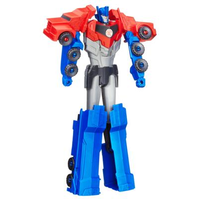 Figura Transformers Robots in Disguise de Optimus Prime Titan Changers