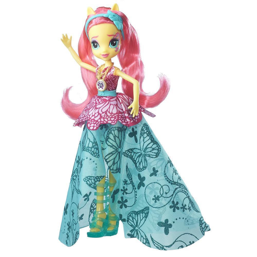 My Little Pony Equestria Girls Legend of Everfree Crystal Gala Fluttershy