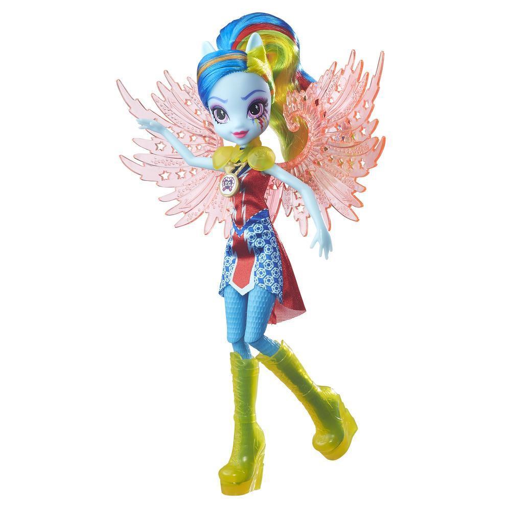 My Little Pony Equestria Girls Crystal Wings Rainbow Dash