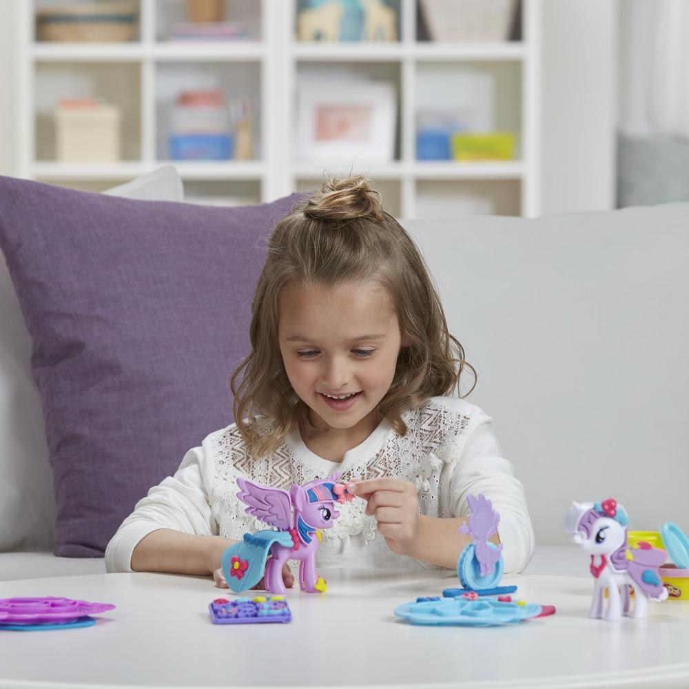Play-Doh My Little Pony - Princess Twilight Sparkle & Rarity Moda divertida