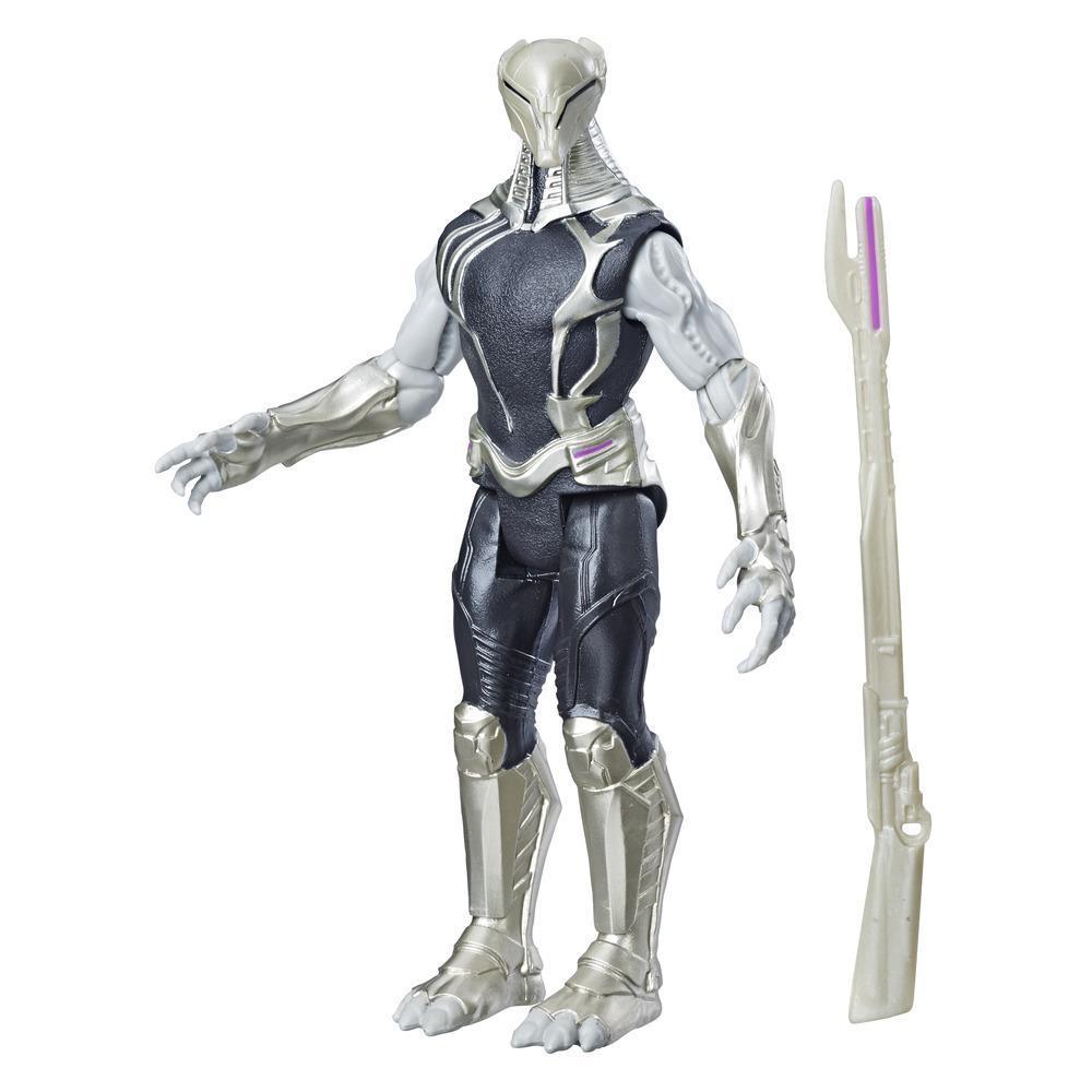 Marvel Avengers Chitauri - Figura de acción de juguete de villano Marvel a escala de 15 cm