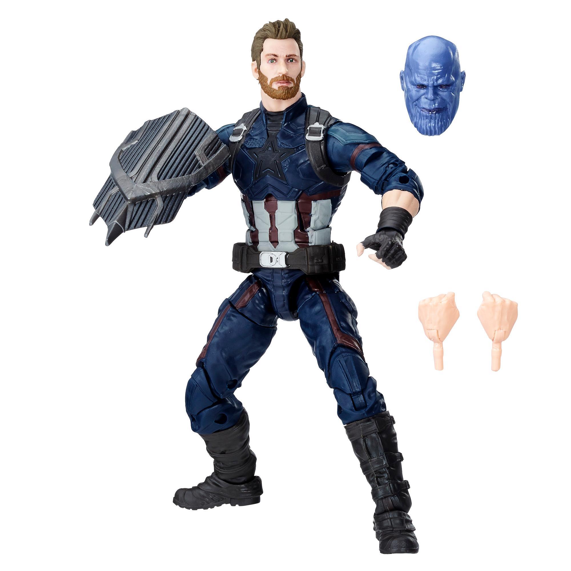 Avengers Marvel Legends Series - Captain America de 15 cm