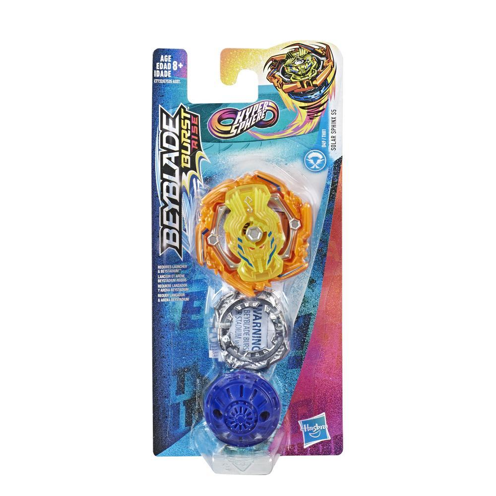 Beyblade Burst Rise Hypersphere Solar Sphinx S5 - Kit individual -- Top de combate tipo ataque, Edad: 8+