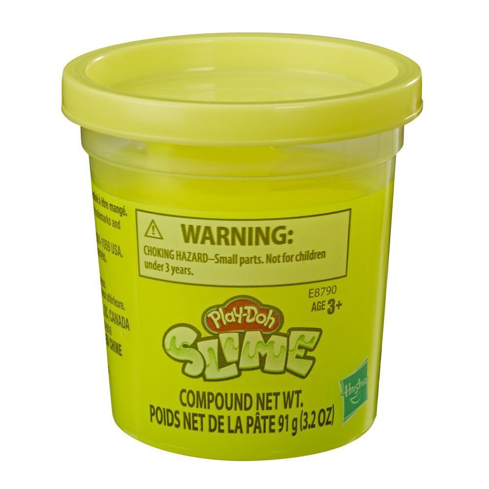 Play-Doh - Slime - Lata individual de 90,5 gramos de masa viscosa amarilla para niños de 3 años en adelante