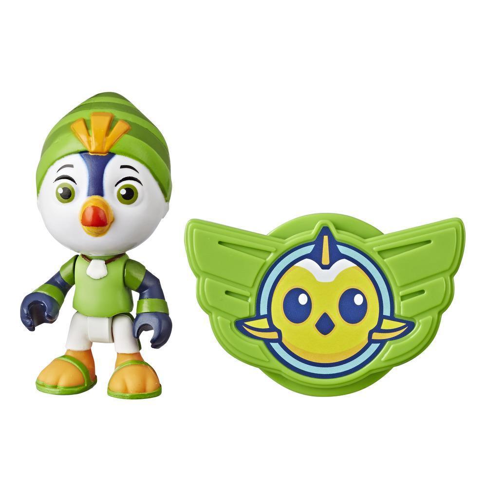 Figura Top Wing de Brody de 7,5 cm e insignia para ponerse del programa de Nick Jr., juguete para niños de 3 años en adelante