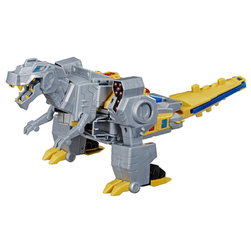 Juguetes Transformers - Figura de acción de Grimlock Cyberverse Action Attackers clase suprema