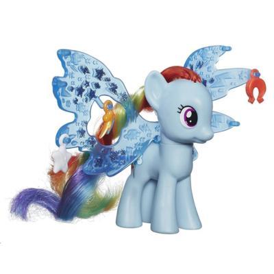 Figura de Rainbow Dash Alas de la Amistad de My Little Pony Cutie Mark Magic
