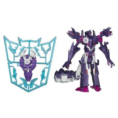 Figuras de Mini-Con Deployers Decepticon Fracture y Airazor Transformers Robots in Disguise
