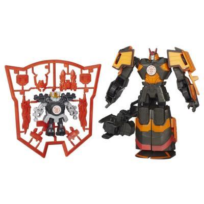 Figuras de Mini-Con Deployers Autobot Drift y Jetstorm Transformers Robots in Disguise