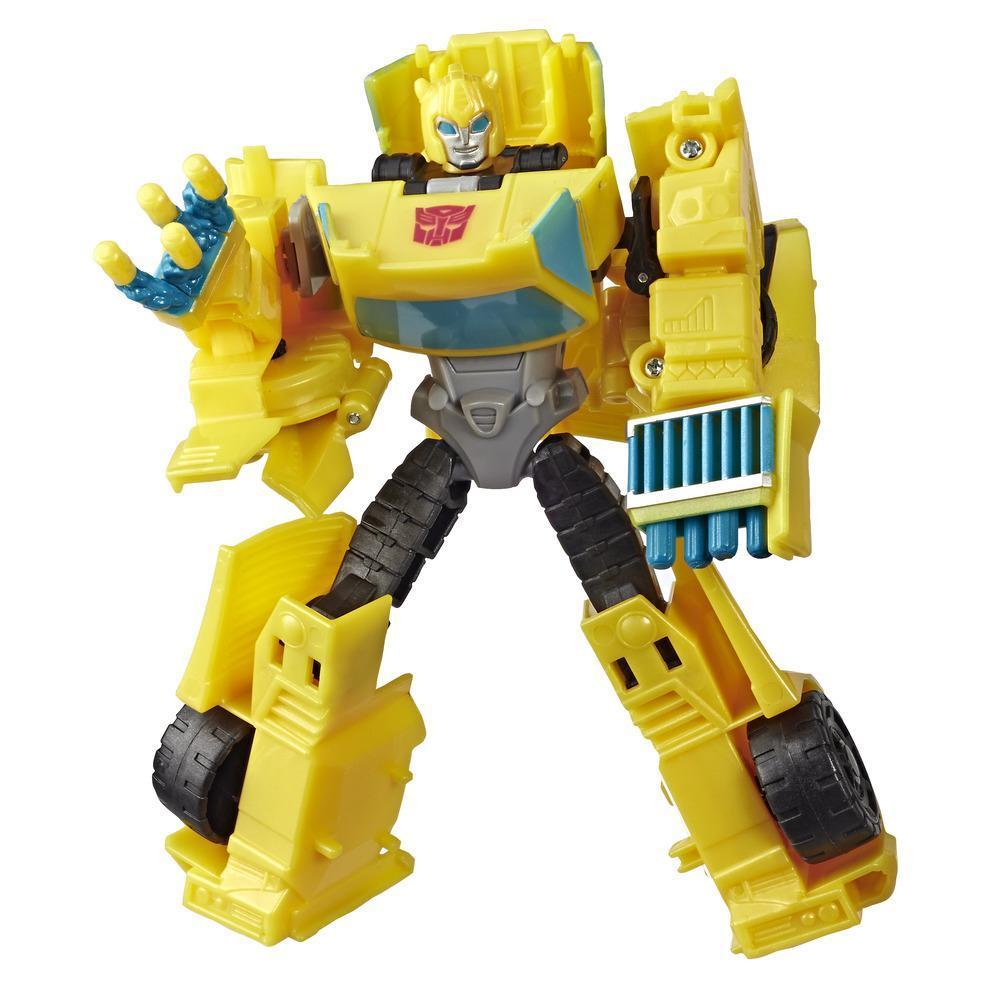 Juguetes Transformers - Figura de acción de Bumblebee Cyberverse Action Attackers clase guerrero