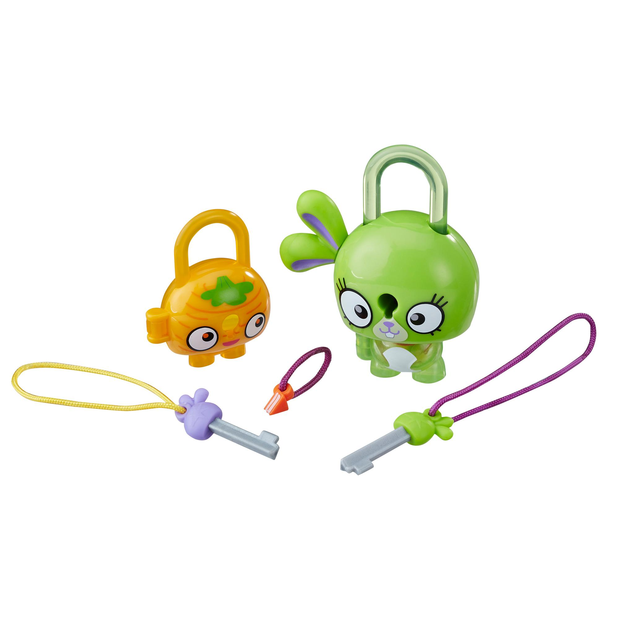 Lock Stars Conejito verde - Serie 1
