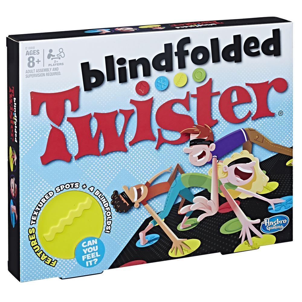 Juego Twister a ciegas