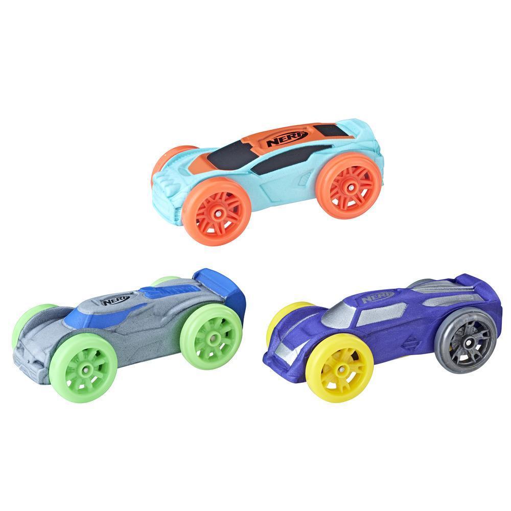 Nerf Nitro - Set de 3 autos de espuma (versión 11)
