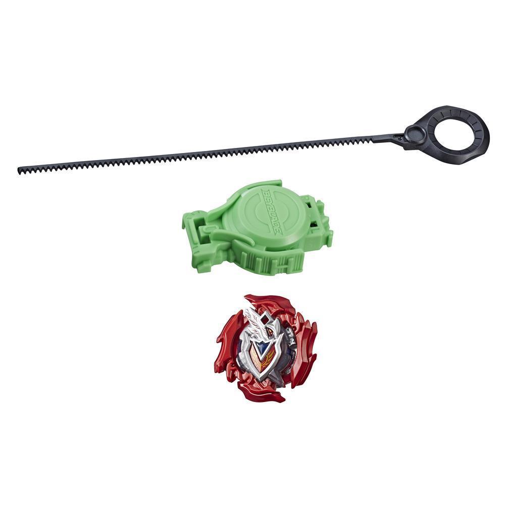 Beyblade Burst Turbo Slingshock - Empaque de inicio - Z Achilles A4 - Top y lanzador