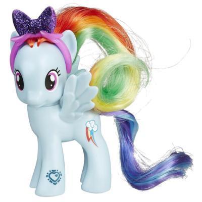 Figura de Rainbow Dash My Little Pony La magia de la amistad